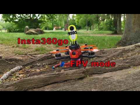 Фото Insta360 go new FPV stabilization mode with crash - team #bckflp