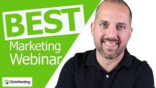 Webinar marketing - tutorial for beginners 2020