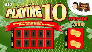 Let Threedom Ring! - Playing10 - 09/14/15 - The Scratch-Off Series!
