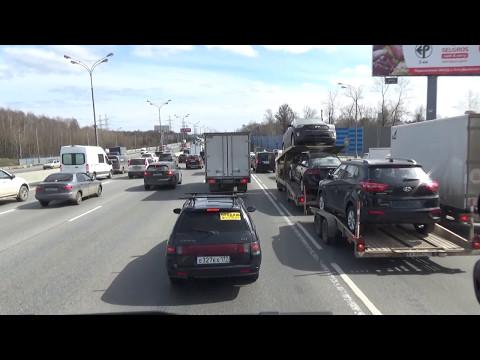 Дневник Дальнобоя. Рейс Москва - Кызыл. Загрузка. Выезд из Москвы