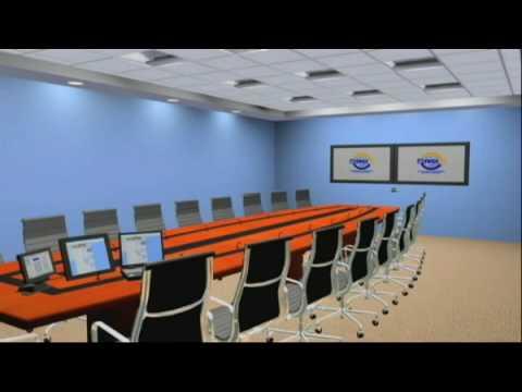 Tandberg Dual Display Video Conference Room