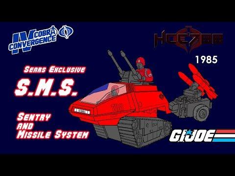 HCC788 - 1985 S.M.S. - Sears Exclusive G.I. Joe Toy! COBRA CONVERGENCE IV!