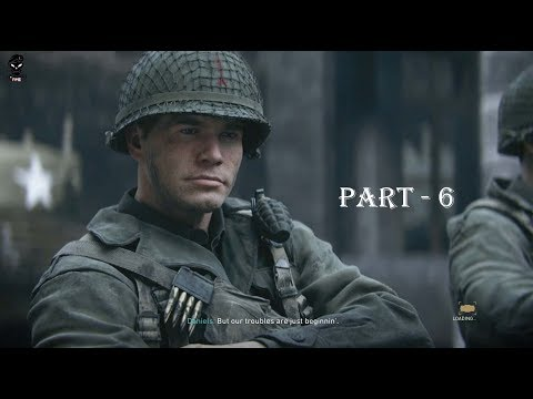 CALL OF DUTY WW2 Walkthrough Gameplay Part 6 - COLLATERAL DAMAGE - Campaign Mission  6 | PC 🎮