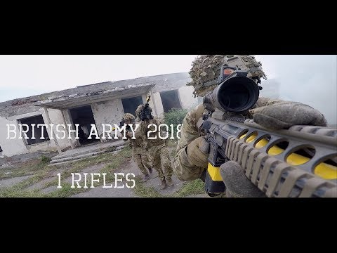BRITISH ARMY 2018 INFANTRY EDITION