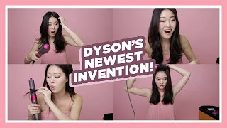 Dyson Airwrap First Impressions | BELLYWELLYJELLY