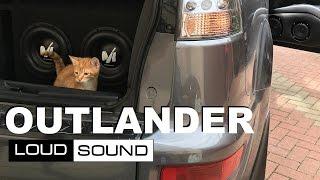 Mitsubishi Outlander - Обзор Аудиосистемы Loud Sound [eng sub]