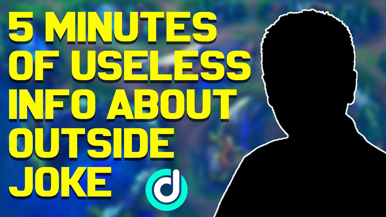 5 Minutes of Useless Information about Outside Joke! *REAL FACE REVEAL*