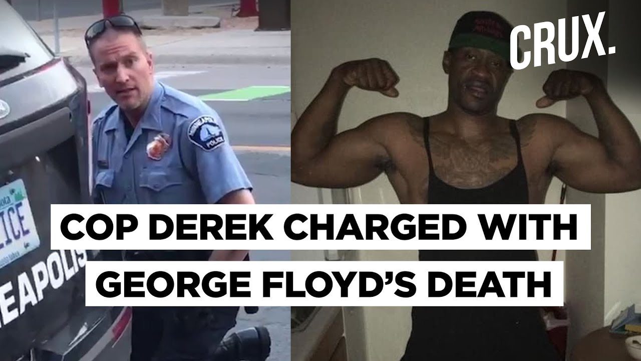 Minneapolis Cop Derek Chauvin Charged With Murder Manslaughter In George Floyd S Case Youtube