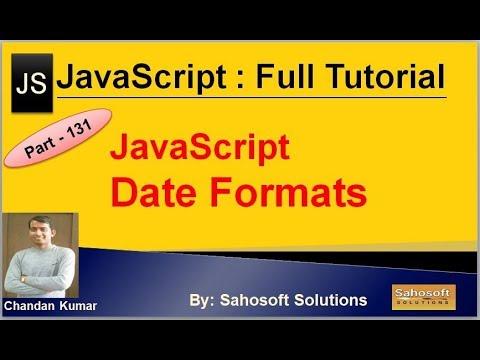 Date Formats in JavaScript   JavaScript Full Tutorial in Hindi thumbnail