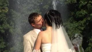 Свадьба 2008 года. Прогулка. Видеосъемка свадьбы в Харькове
