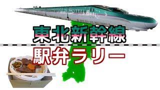 【東北新幹線駅弁ラリー】東北新幹線の改札内にある駅弁屋巡り / Tohoku Shinkansen station lunch rally