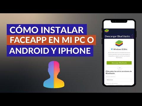 Como Instalar y Usar FaceApp en mi PC o en Android e iPhone - Gratis