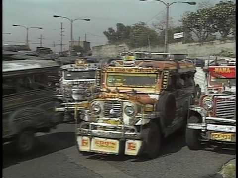 Jeepney in Manila 1986