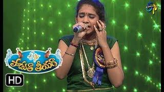 Ye Devi Varamu Song Vaishnavi Performance Padutha Theeyaga 1st October 2017 ETV Telugu