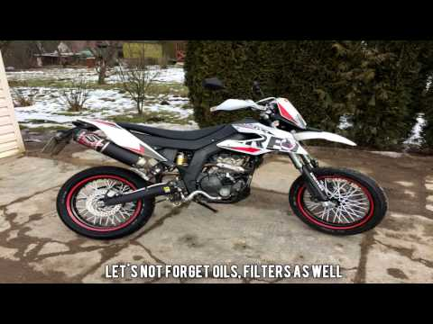 Derbi Senda - Husqvarna SM mini Supermoto Project