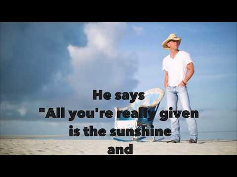 Kenny Chesney - Get Along (Lyric)