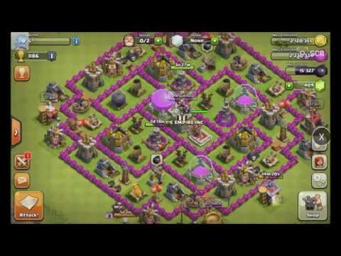Clash of Clans: Mass Archer Raid
