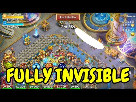 MUST WATCH I Fully Invisible Ronin L Castle Clash