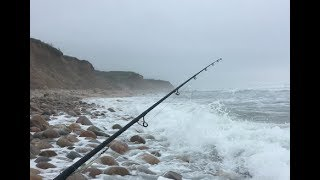 Montauk Surf Striped Bass - First Time Fishing the Mecca