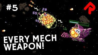 Every New Starbound 1.3 Mech Weapon! | Let