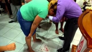 Mulher vomita sangue e é curada Pastor Marcio Mach