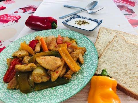 How to make chicken fajita (چۆنیهتی دروستكردنی فاهیتهی مریشك)