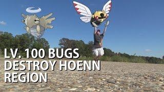 353 - Level 100 Bugs DESTROY Hoenn Region!!!