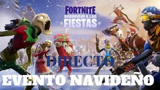DIRECT/ FORTNITE CHRISTMAS EVENT - SAVE THE WORLD.