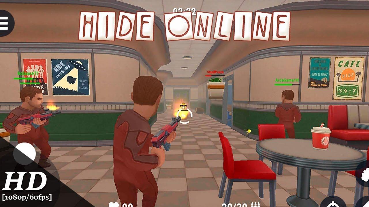 скачать взломанную версию hide online
