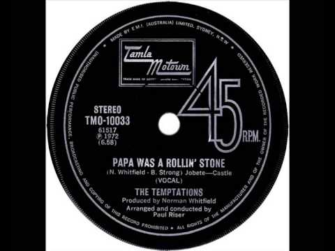 Temptations - Papa Was A Rollin