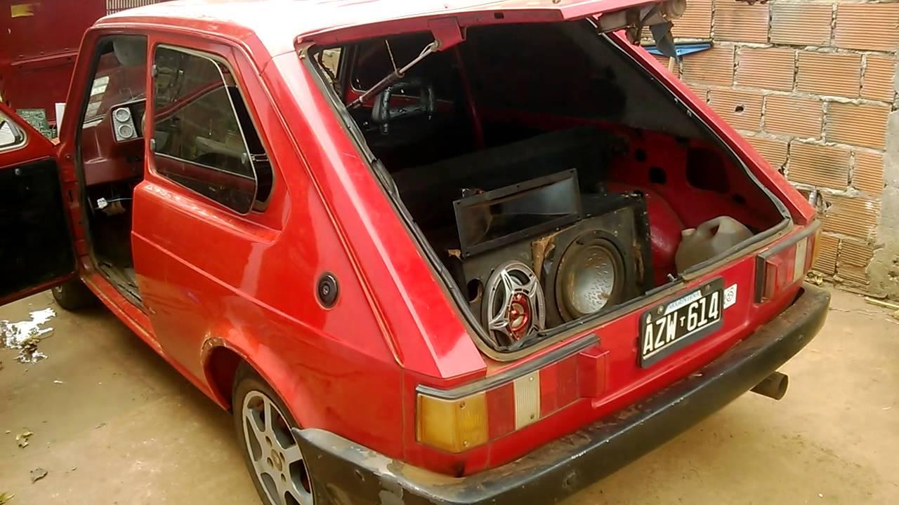 Fiat 147 Con Equipito De Musica Youtube