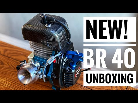 Bartolone Racing! - NEW BR 40cc Reed Engine UNBOXING! Big Bore Engine - Smith RC Studios