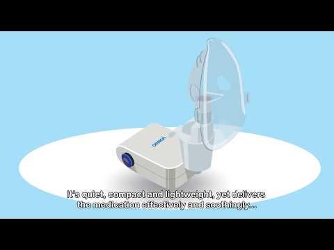 OMRON Compressor Nebulizer NE-C803: Optimal Respiratory Treatment