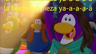 club penguin: la fiesta empieza ya! (letras de canción)