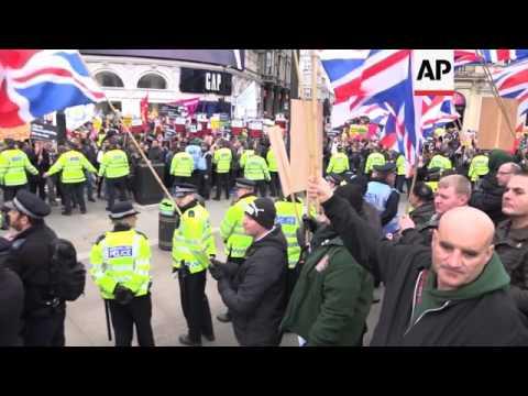 Far-right party incite anti-Muslim feelings in London