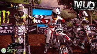 MUD FIM Motocross World Championship - Xbox 360 / Ps3 Gameplay (2012)