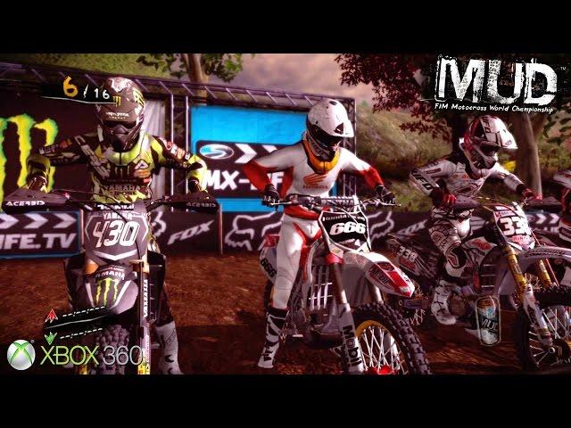 MUD FIM Motocross World Championship - Xbox 360 / Ps3 Gameplay (2012)