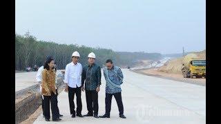 Hebat! Hanya Butuh 3 Tahun Jokowi Kalahkan SBY Bahkan Soeharto Dalam Pembangunan Jalan Tol