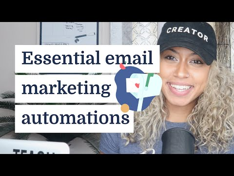 Essential email marketing automation examples creators should use to sell digital products