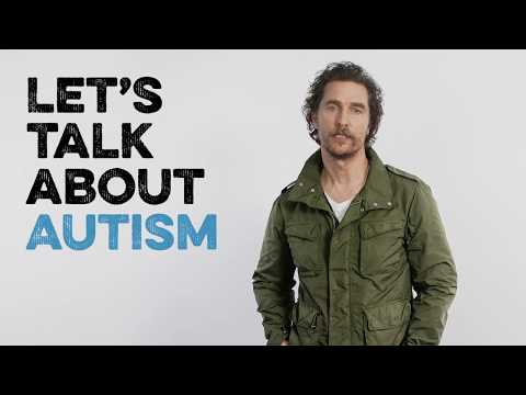 Kiehl's Autism Speaks with Matthew McConaughey