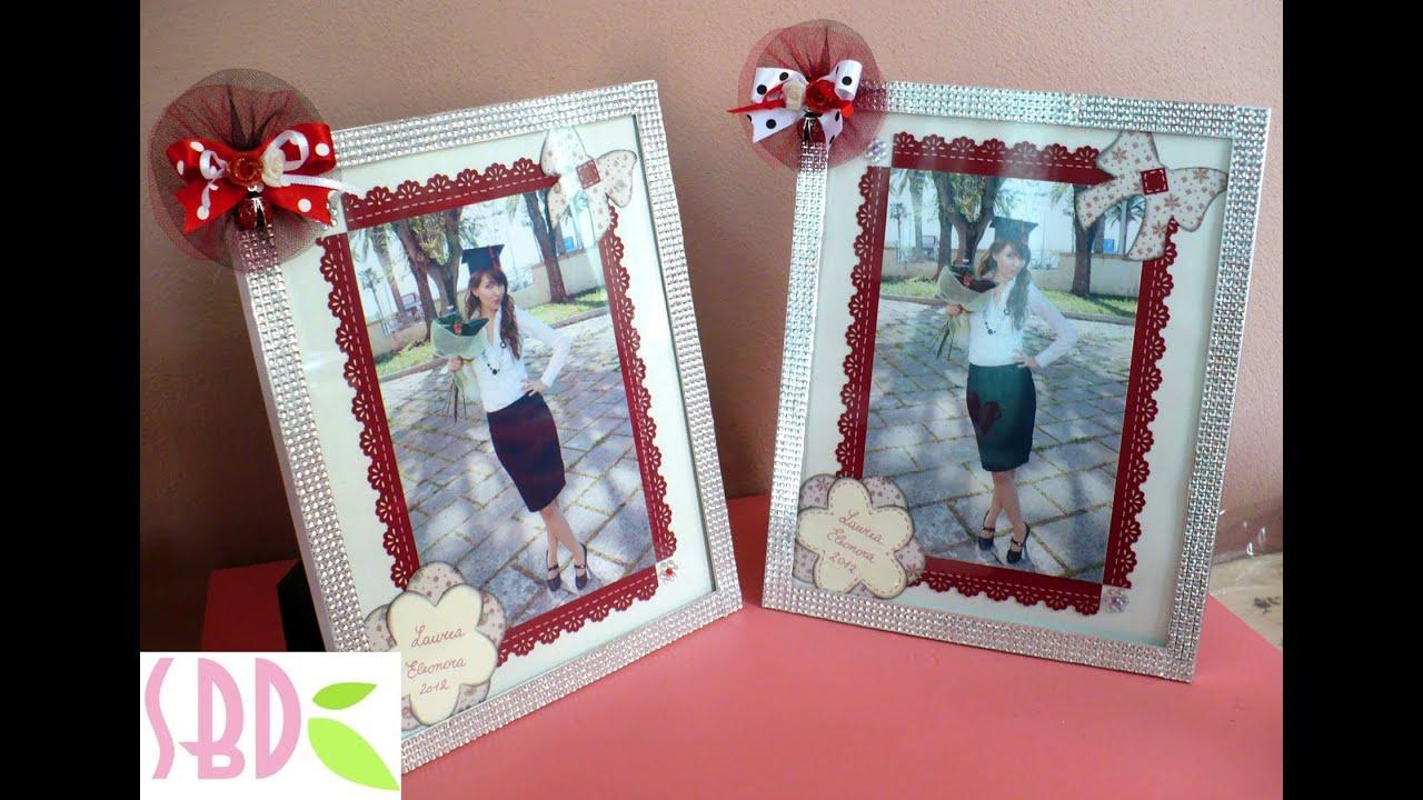 Favoloso Tutorial scrap: decorazione foto e cornice - frame and photo  WG69