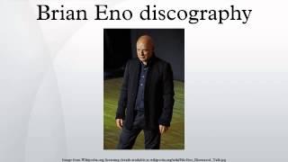 Brian Eno discography