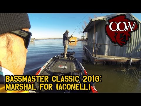 Bassmaster Classic Marshal for Michael Iaconelli 2016 Day 2 - OOW Outdoors