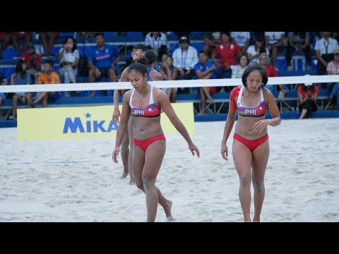 SEA Games 2019: Highlights of Philippines vs Thailand women's beach volleyball match