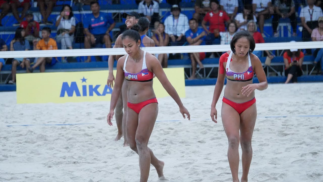 Sea Games 2019 Highlights Of Philippines Vs Thailand Women S Beach Volleyball Match Youtube