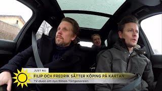 """Filip och Fredrik: """"Vi är ganska bleka och ställer inte till med galenskap"""" - Nyhetsmorgon (TV4)"""