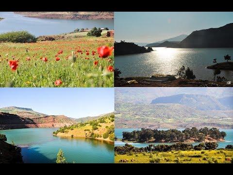 BIN EL OUIDANE et oued laabide : The Real Beauty of Morocco