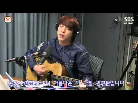 "140312 This Beautiful Morning with Kim Chang Wan - Yonghwa ""Love Is.."" Live"
