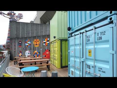 Wahaca shipping container restaurant – Wahaca southbank experiment shipping container restaurant