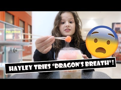 "Hayley Tries ""Dragon's Breath"" 🐉 (WK 383.4) 